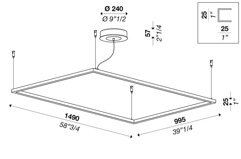 CIRCUS rectangular S1000x1500 v2